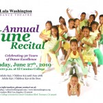 Annual Youth Dance Recital on June 27 at El Camino College