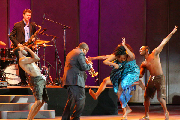 Lula Washington Dance Theatre with Terence Blanchard