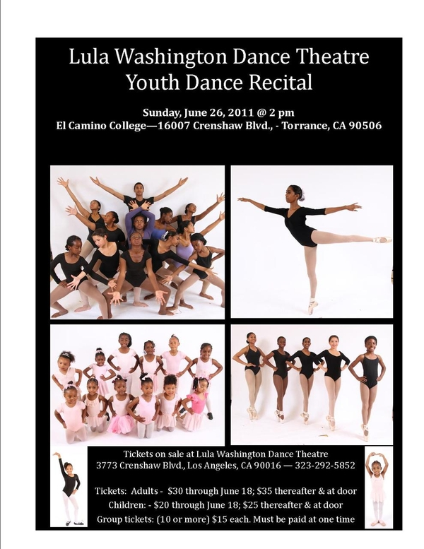 2011 Youth Recital, Join Us!