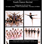 2011Youth Dance Recital on June 26th at El Camino College