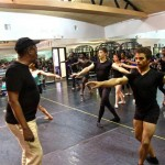 Choreographer George Faison Teaches at LWDT
