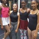 Students Learn Classical Ballet Variations in New Class